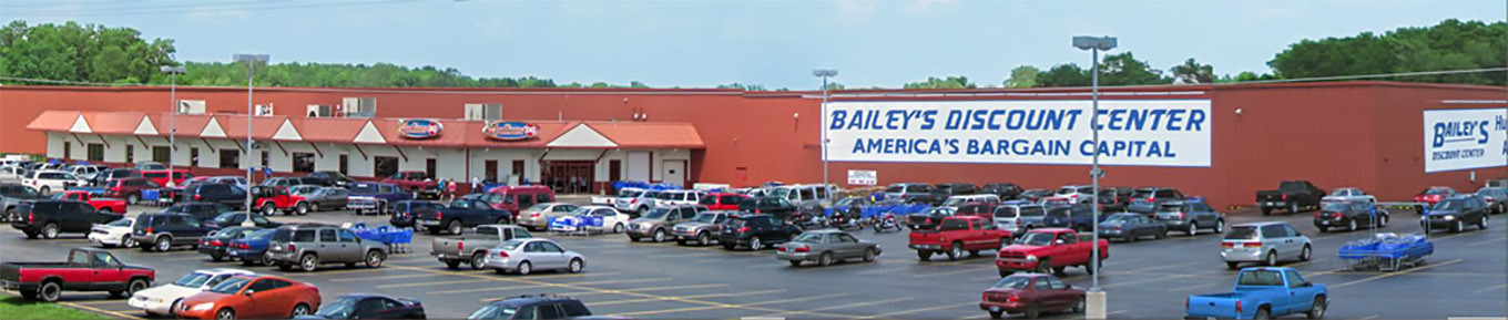 About Us Bailey S Discount Center