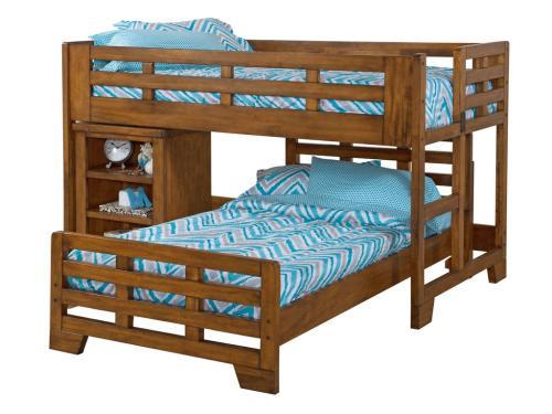 American Woodcrafters Low Loft Twin Bed Bailey S Discount Center