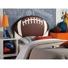 Powell Upholstered Football Twin Headboard